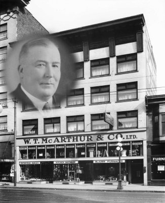 Original founder of Meadowvale and his department store in Vancouver