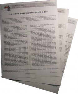Home Inspection Fact Sheets bundled together